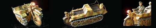 SD.KFZ. 2 - KKrad and Accesories
