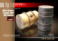 German Fuel-Oil Drums (2pcs)